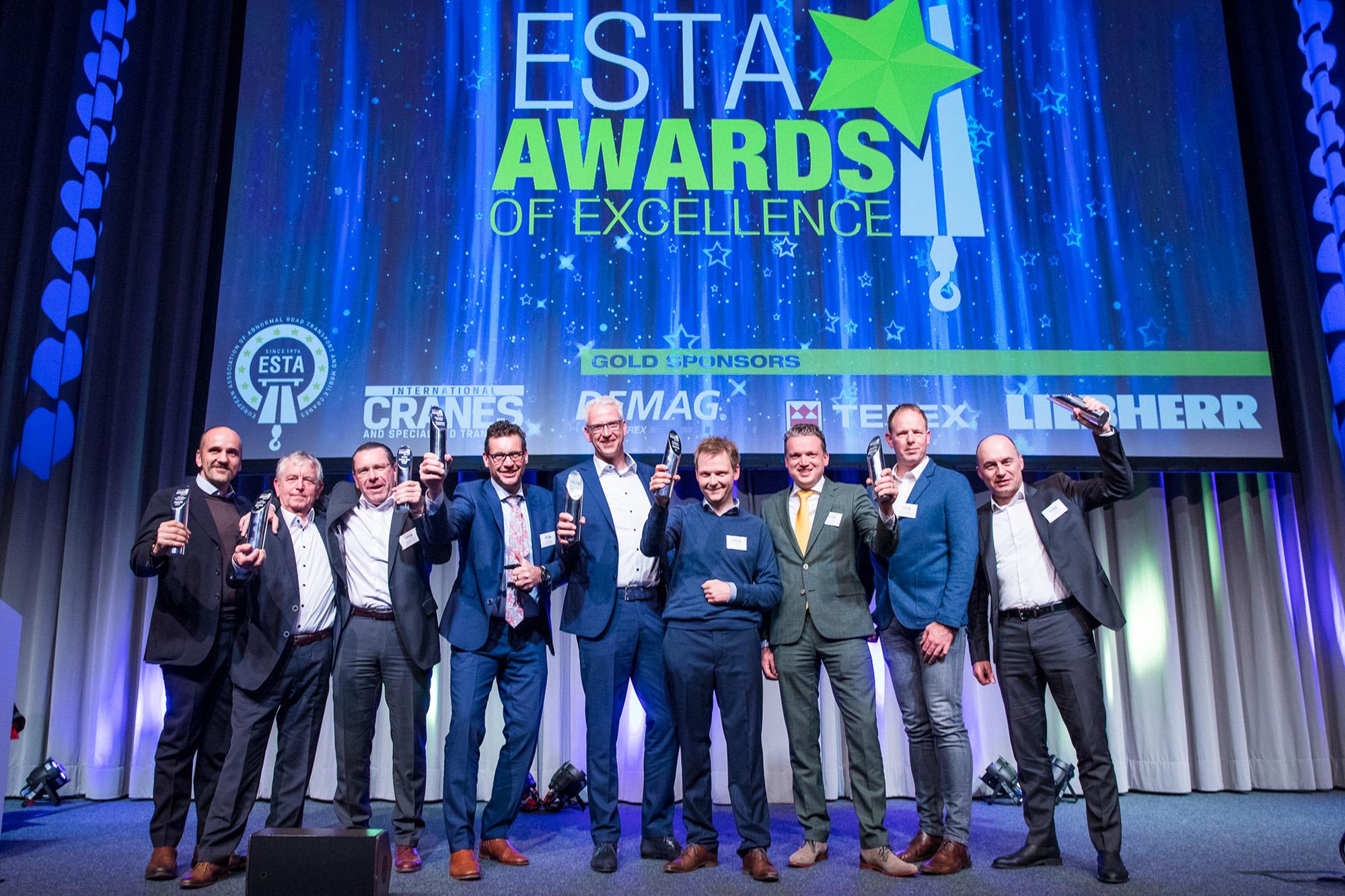Liebherr ganha prêmio ESTA Award