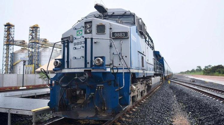 Governo Federal inaugura em Goiás trecho da Ferrovia Norte-Sul