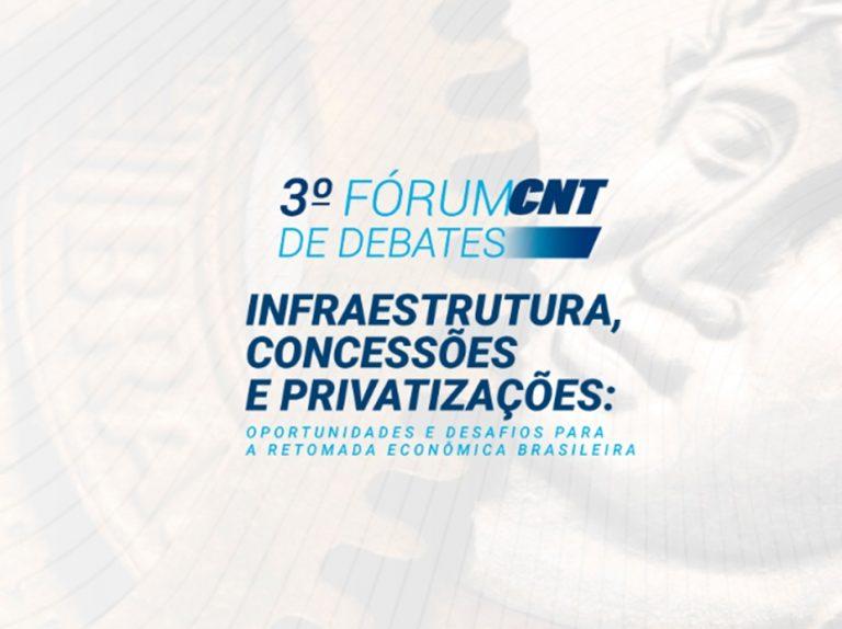 Inscrições abertas para o 3º Fórum CNT de Debates