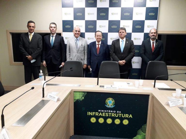 SINDIPESA reúne-se com Ministro da Infraestrutura