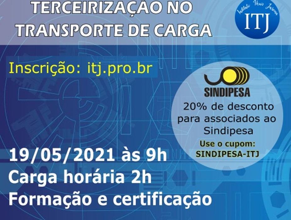 SINDIPESA oferece curso sobre Terceirização na área de transporte de carga