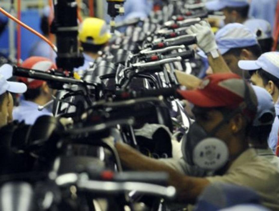 Faturamento das indústrias sobe 2,2%