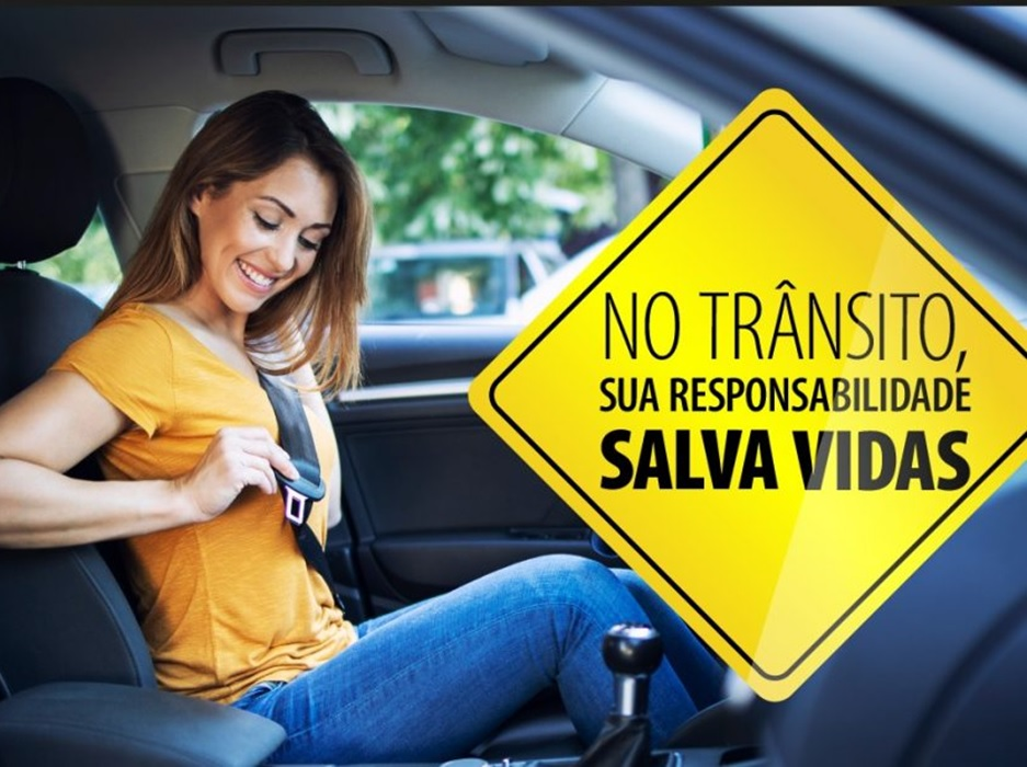 Campanha nacional quer aumentar conscientização sobre responsabilidade no trânsito