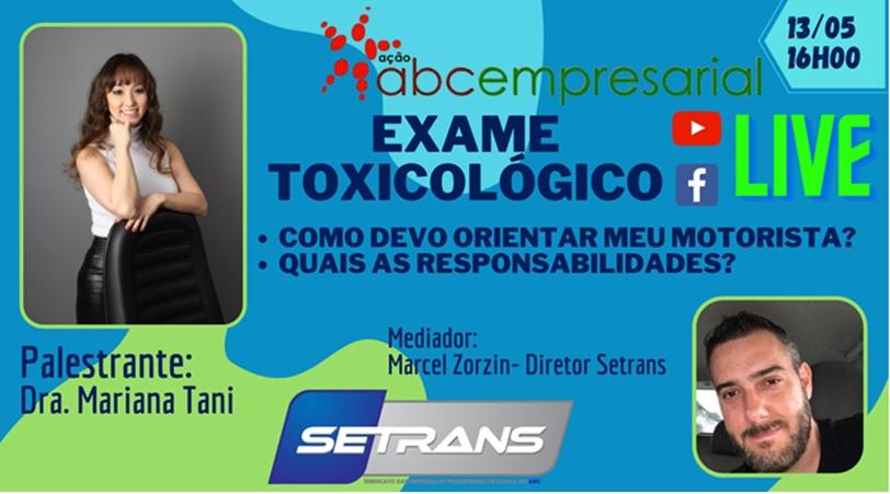 A aplicação da legislação sobre o exame toxicológico