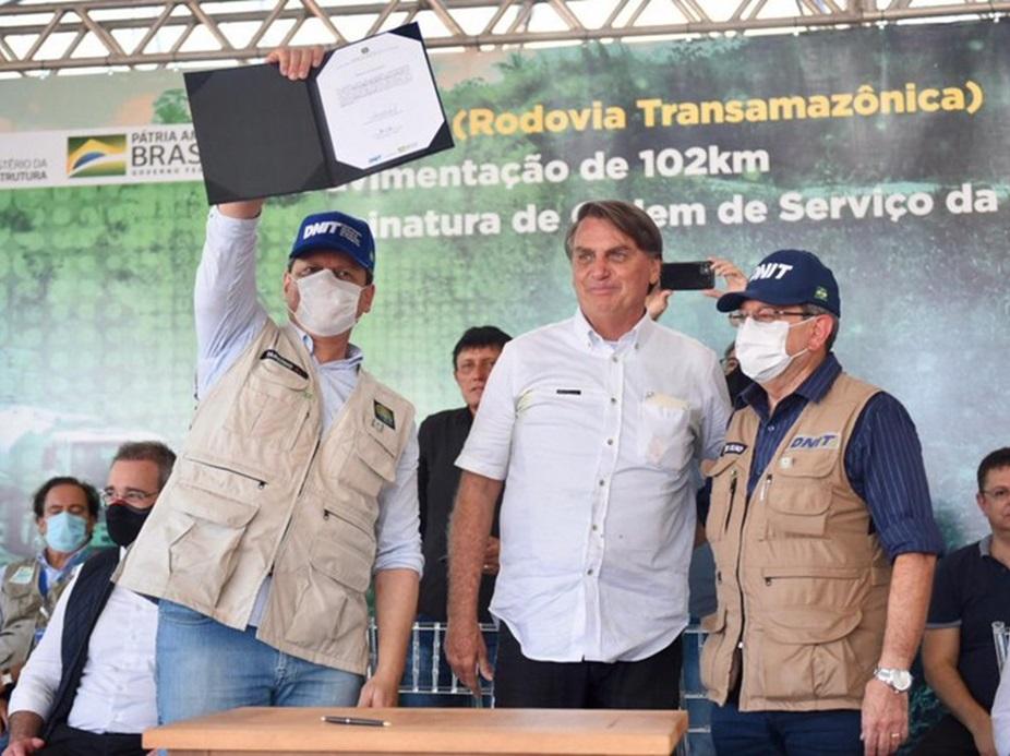 Governo Federal conclui pavimentação de trecho paraense da Transamazônica
