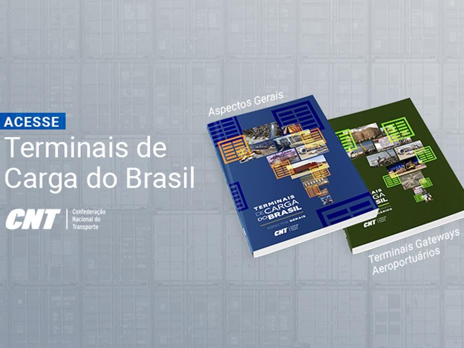 CNT lança publicações inéditas sobre terminais de carga no Brasil