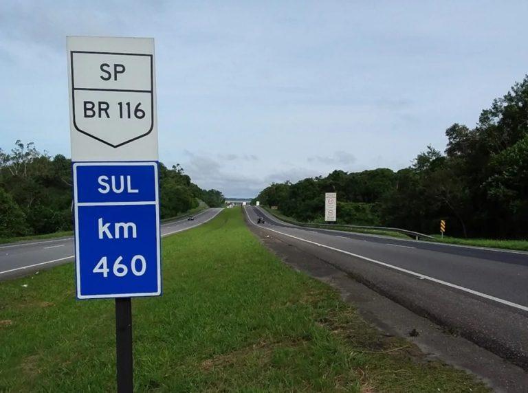 Principal rodovia do país tem 131 quilômetros duplicados em trecho que atravessa o Rio Grande do Sul