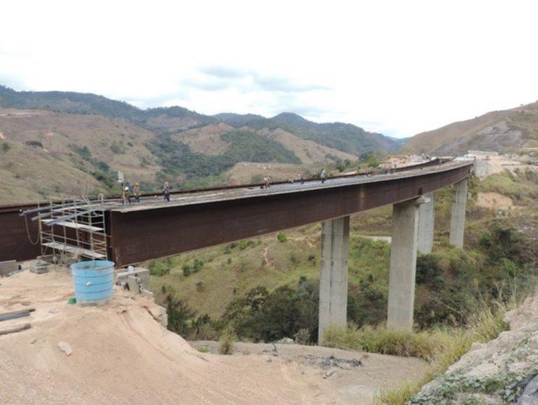 DNIT avança na construção de ponte em obras de duplicação da BR-381/MG