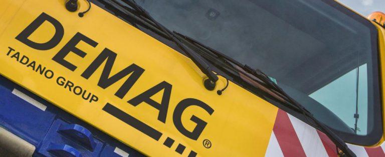 Tadano concluiu a aquisição da marca Demag Mobile Cranes