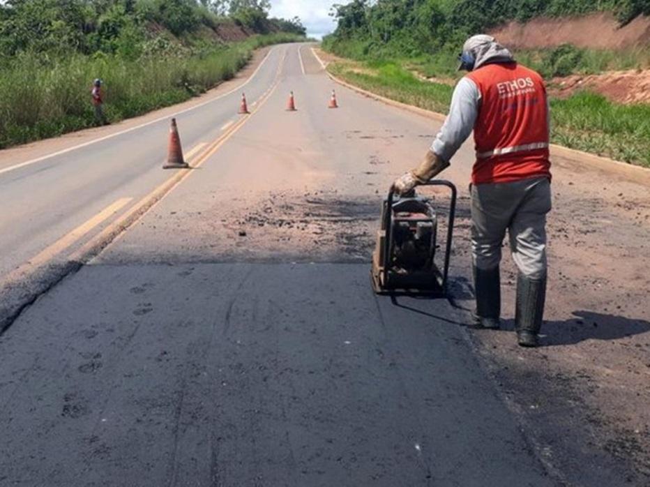 DNIT realiza obras de manutenção ao longo da malha rodoviária do Maranhão