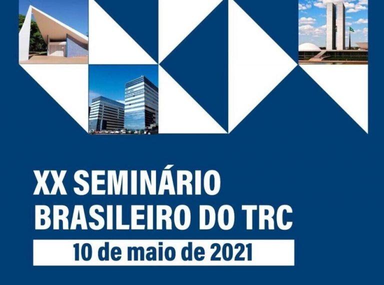 Ministro da Infraestrutura e Presidente da Câmara dos Deputados são presença confirmada na vigésima edição do Seminário Brasileiro do TRC