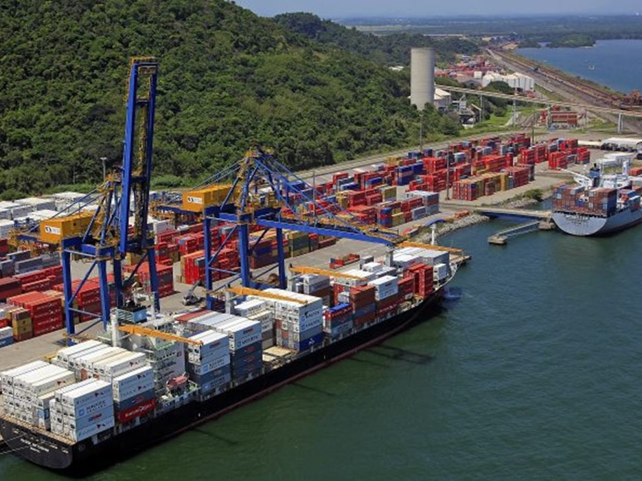 Movimentação nos portos nacionais cresce 9,7% no primeiro bimestre
