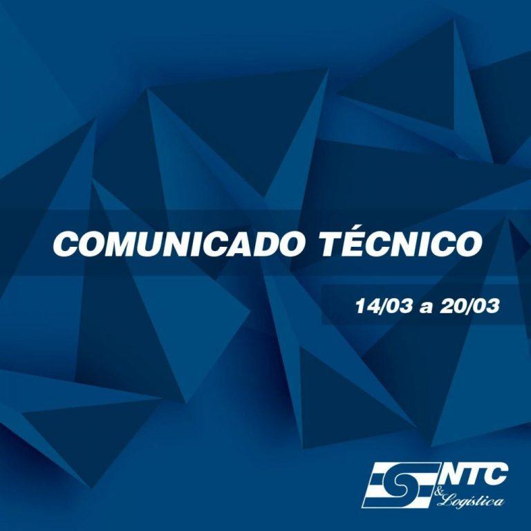 Comunicado Técnico – Impacto do aumento do diesel nas operações de TRC