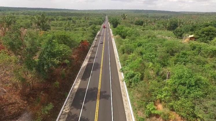 Governo Federal entrega 150 km de pista revitalizada na BR-343, no Piauí