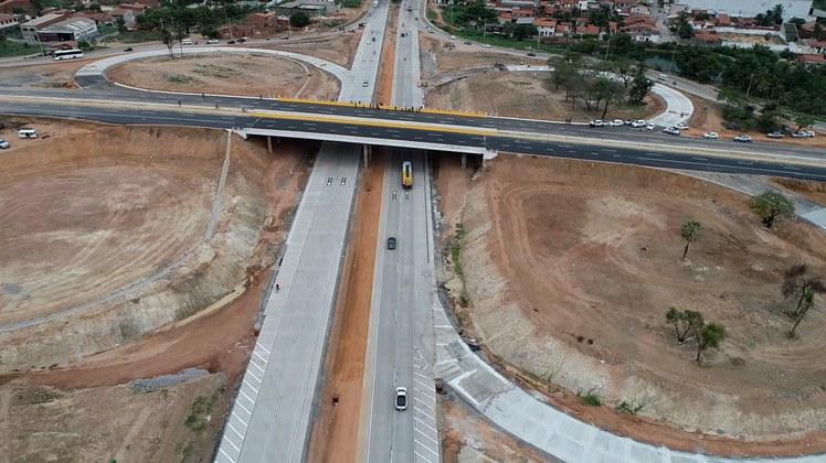 Anel Viário de Fortaleza tem novos segmentos liberados ao tráfego de veículos