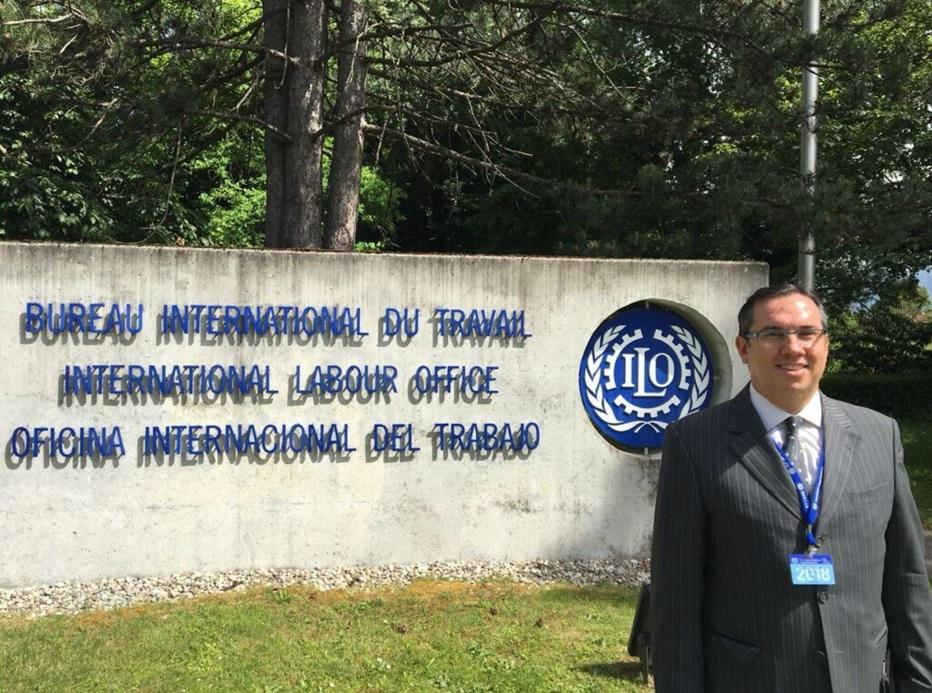 Assessor jurídico da NTC, Narciso Figueirôa, participa da 109ª Conferência Internacional do Trabalho da OIT