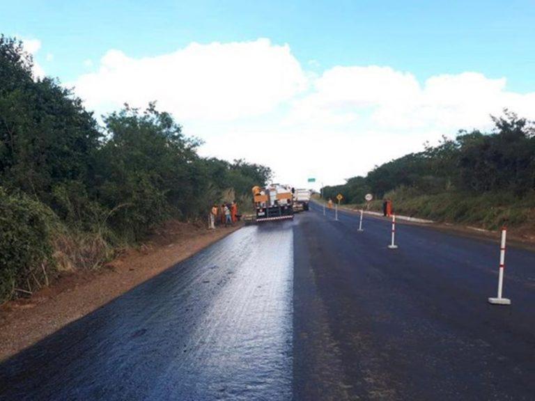 DNIT avança na recuperação de rodovias federais da região Centro-Sul do Ceará