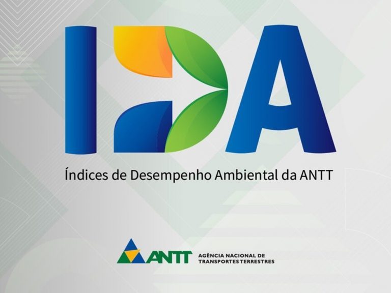 ANTT divulga Índices de Desempenho Ambiental (IDA) de 2021