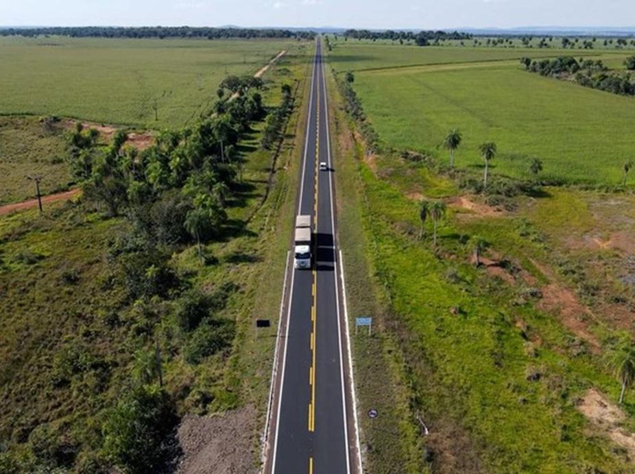 DNIT entrega a revitalização de mais 18,40 quilômetros na BR-060/MS
