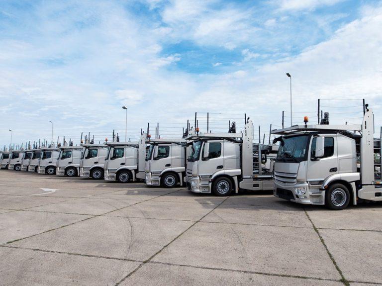 Anfavea registra julho com maior produção de caminhões desde 2013