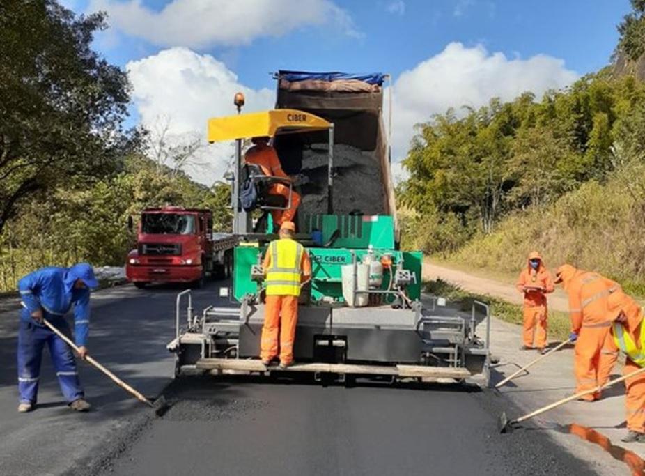 DNIT inicia obras de recuperação de 73 quilômetros da BR-262/ES