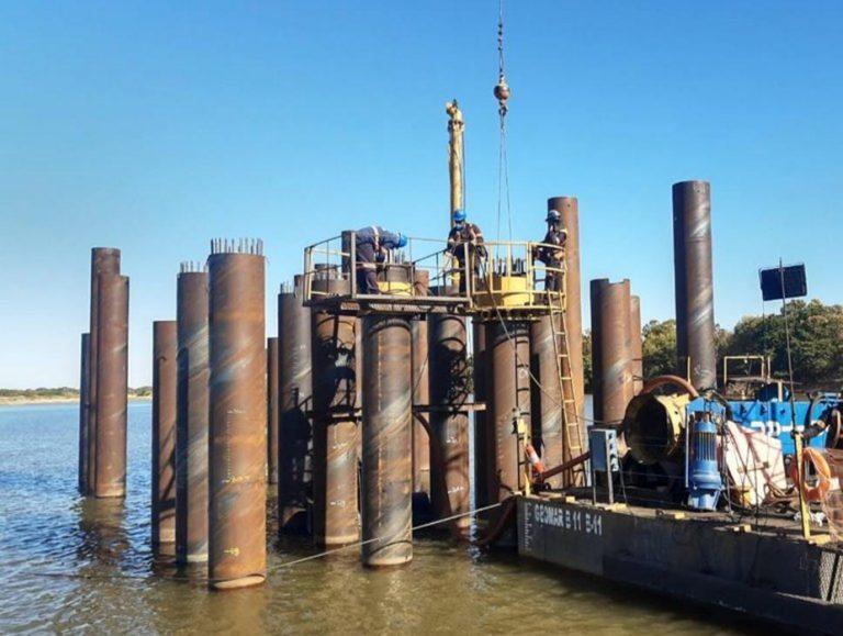 DNIT avança com obras da Ponte sobre o Rio Araguaia, em Goiás