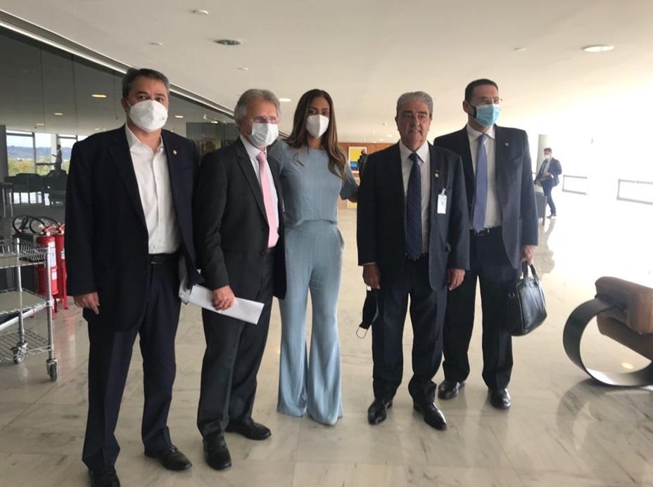 Presidente da NTC&Logística participa de audiência com a Ministra da Secretaria de Governo Flávia Arruda